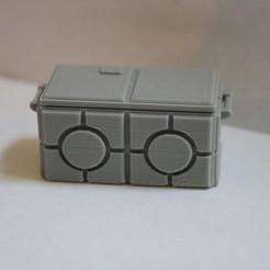Télécharger plan imprimante 3D gatuit Caisse d'armes impériale à l'échelle de la Légion de la Guerre des étoiles, Bountyhunterxx5