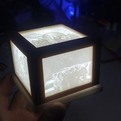 IMG_20200412_171049.jpg Download STL file Wooden frame lithophane holder. • 3D printer template, jonVillaRobre