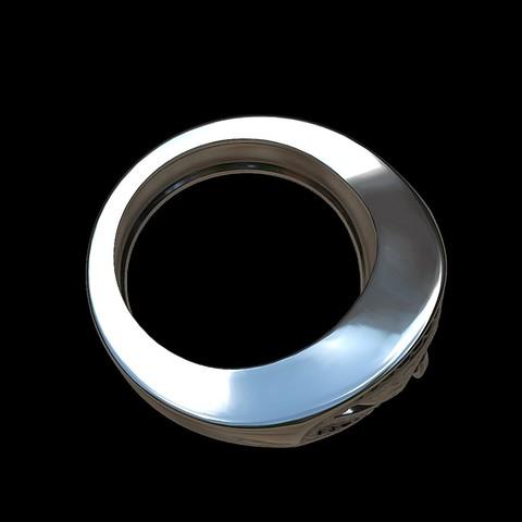 Grimace eye ring by mwopus - 3D model - Sketchfab20180119-005886.jpg Download STL file Grimace eye ring • 3D print object, MWopus