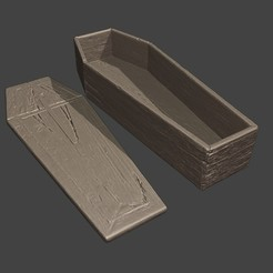 coffin08.jpg Download STL file Coffin • 3D printing object, MWopus