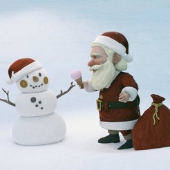 3D printing model Snowman, MWopus