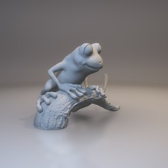 Tree Frog 3D printer file, MWopus