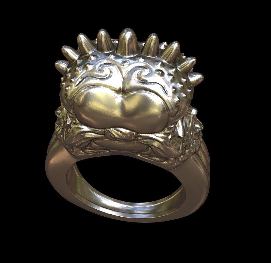 Punk rings by mwopus - 3D model - Sketchfab20180119-005878.jpg Download STL file Punk rings • 3D printable template, MWopus
