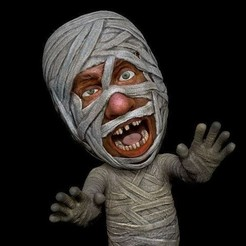 stl file Mummy, MWopus