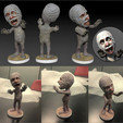 Download STL file Mummy • 3D printable template, MWopus