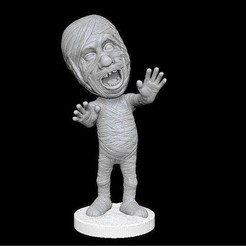 Download STL Mummy, MWopus