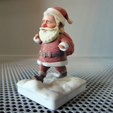 3D printer models Santa Claus, MWopus