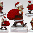 Download STL file Santa Claus • Object to 3D print, MWopus