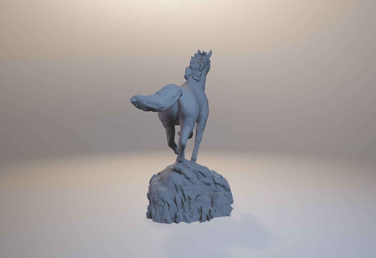 horse_3dprint04.jpg Download STL file God Speed • 3D printer template, MWopus