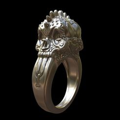 Download 3D printing designs Punk rings, MWopus