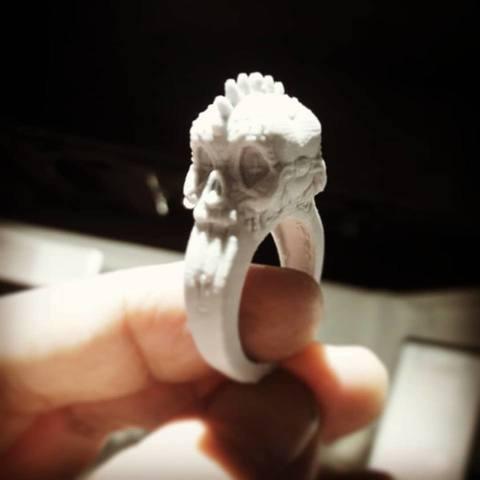 26730799_10215265282482961_5060261511399377808_n.jpg Download STL file Punk rings • 3D printable template, MWopus