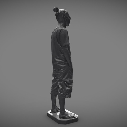 MW 3D printing test-Low - Download Free 3D model by mwopus (@mwopus) - Sketchfab20190320-007952.jpg Download STL file MW 3D printing test-Low,Medium,High • Template to 3D print, MWopus