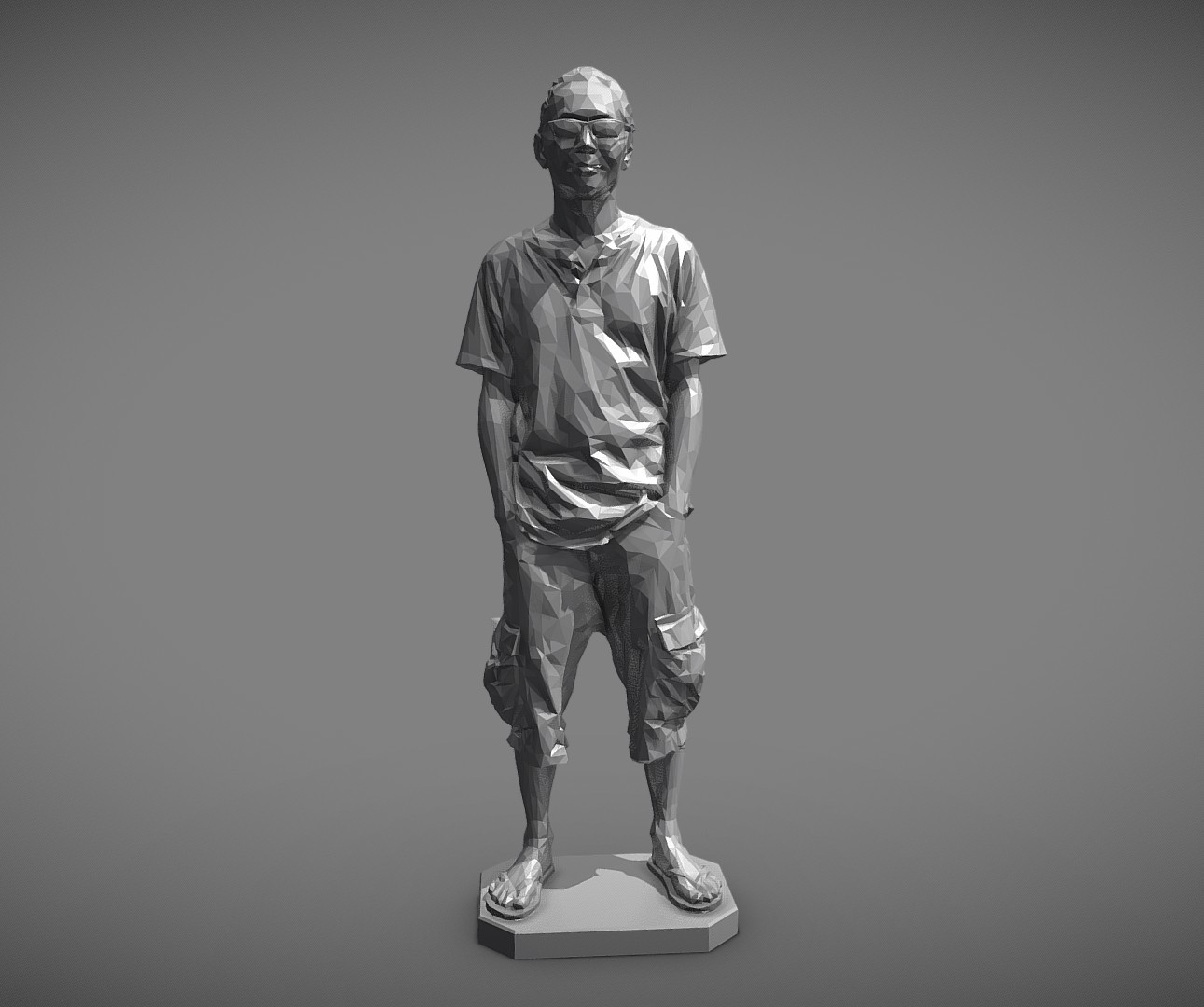 MW 3D printing test-Low - Download Free 3D model by mwopus (@mwopus) - Sketchfab20190320-007949.jpg Download STL file MW 3D printing test-Low,Medium,High • Template to 3D print, MWopus