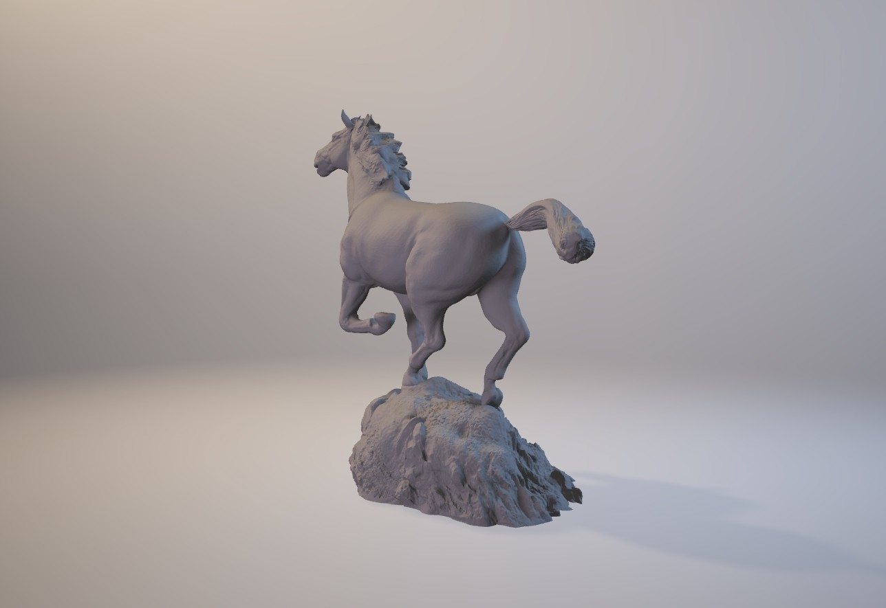 horse_3dprint03.jpg Download STL file God Speed • 3D printer template, MWopus