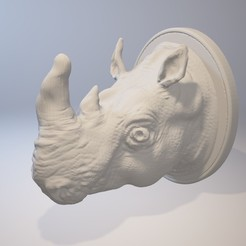 Download STL Rhinoceros Hook, MWopus