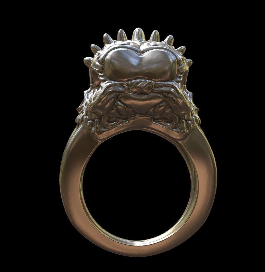 Punk rings by mwopus - 3D model - Sketchfab20180119-005875.jpg Download STL file Punk rings • 3D printable template, MWopus