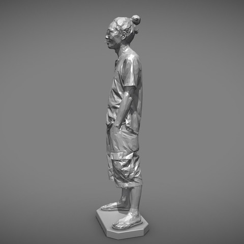 MW 3D printing test-Low - Download Free 3D model by mwopus (@mwopus) - Sketchfab20190320-007950.jpg Download STL file MW 3D printing test-Low,Medium,High • Template to 3D print, MWopus