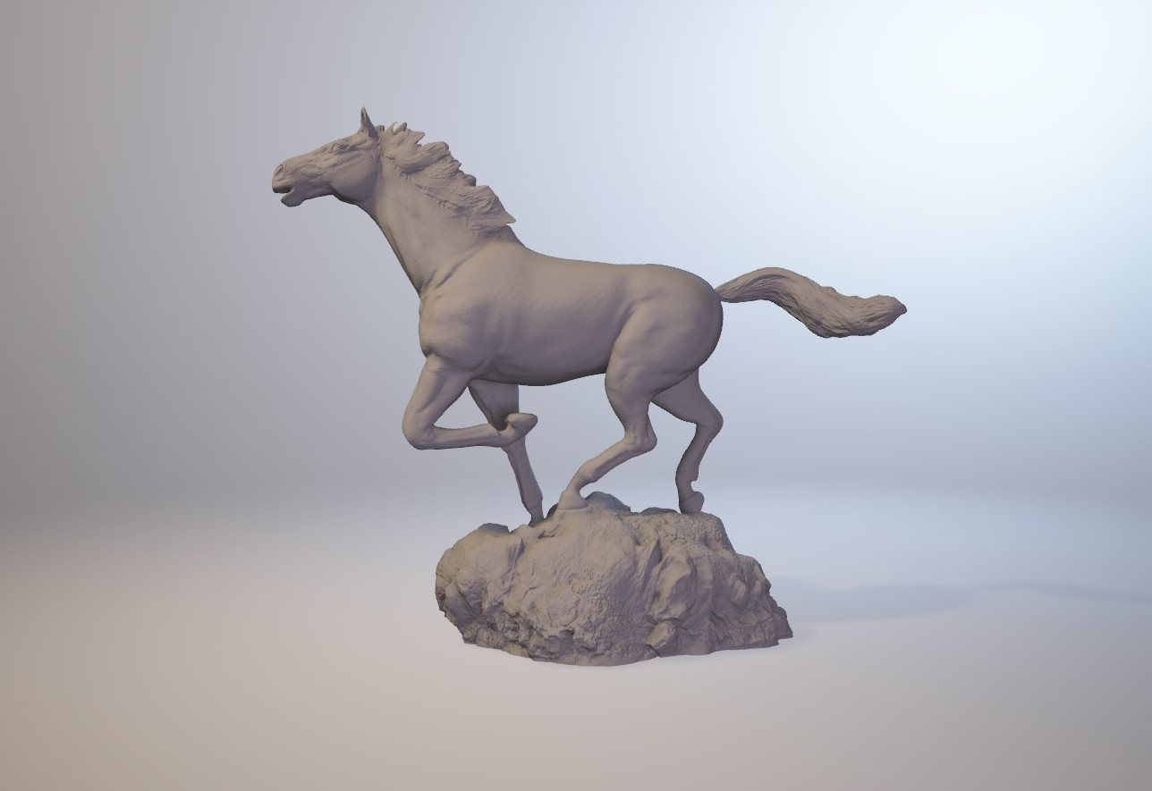 horse_3dprint01.jpg Download STL file God Speed • 3D printer template, MWopus