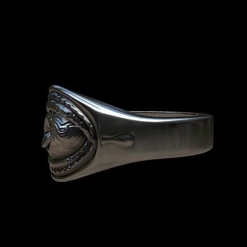 Grimace eye ring by mwopus - 3D model - Sketchfab20180119-005885.jpg Download STL file Grimace eye ring • 3D print object, MWopus