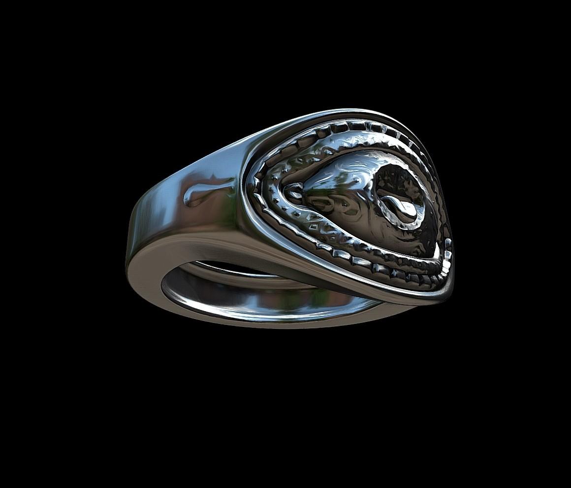 Grimace eye ring by mwopus - 3D model - Sketchfab20180119-005884.jpg Download STL file Grimace eye ring • 3D print object, MWopus