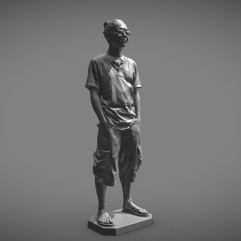 MW 3D printing test-Low - Download Free 3D model by mwopus (@mwopus) - Sketchfab20190320-007953.jpg Download STL file MW 3D printing test-Low,Medium,High • Template to 3D print, MWopus