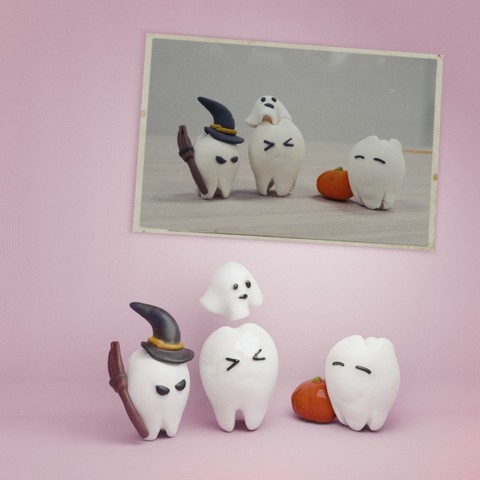 3D printing model the Halloween of the teeths, MWopus