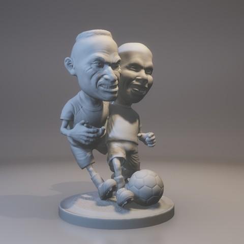 Download STL file Soccer • 3D printing design, MWopus