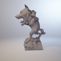 Download STL files Werewolf, MWopus