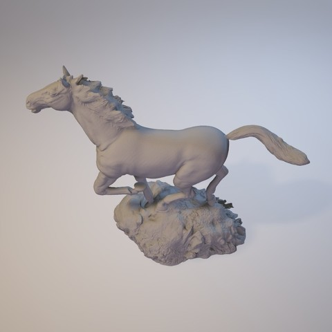 horse_3dprint11.jpg Download STL file God Speed • 3D printer template, MWopus