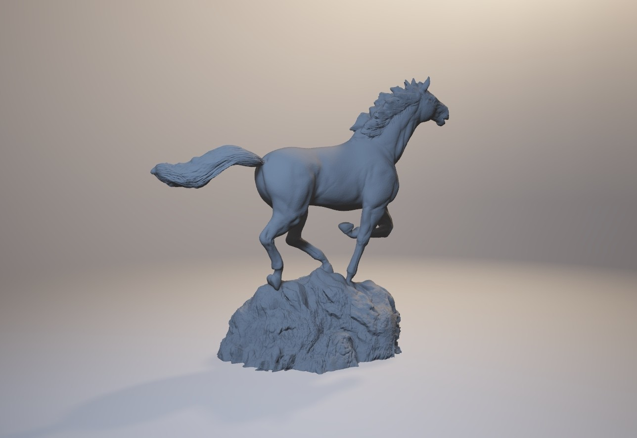 horse_3dprint05.jpg Download STL file God Speed • 3D printer template, MWopus