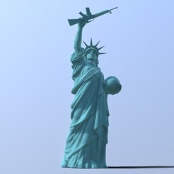 Download 3D model Statue of Liberty, MWopus