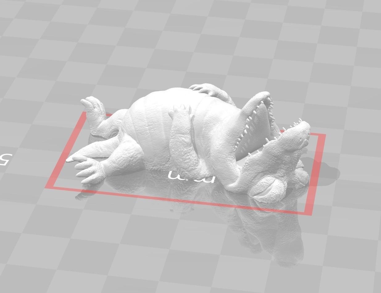 1601_Crocodile00.jpg Download STL file I'm stuffed • 3D printer design, MWopus