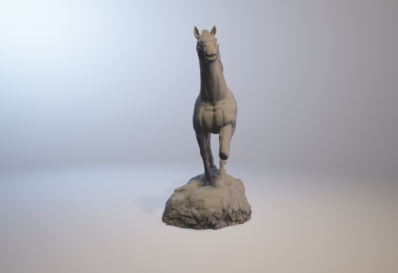 horse_3dprint08.jpg Download STL file God Speed • 3D printer template, MWopus
