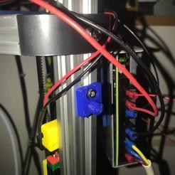 Download free 3D printer designs Z-Probe holder, twinsenfan
