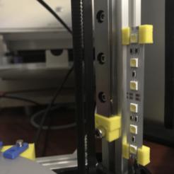 Descargar archivo 3D gratis 12mm de ancho 5050 Soporte de tira LED, twinsenfan