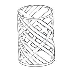 Imprimir en 3D gratis Bolígrafo / lápiz / portabolígrafos, Tellen