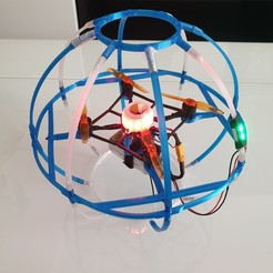drone soccer F9B.jpg Download STL file DRONESOCCER200 • Design to 3D print, vincentboisselier