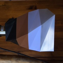 Download free 3D printer files Lamp shade (Vase mode), ja-m