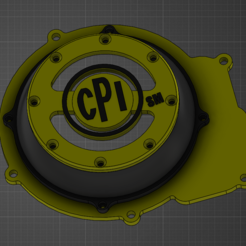 Download free 3D printer templates Ignition cover Minarelli am6, Anthony-plqn
