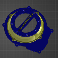 Download free 3D printing files Sherco ignition cover, Anthony-plqn