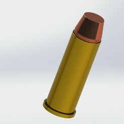 44 Mag Dummy_3.JPG Download STL file .44 Cal Dummy Ammunition • Object to 3D print, heyacomin10