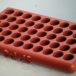 45.jpg Download STL file Chart for recharging .45 cal • 3D printable object, heyacomin10
