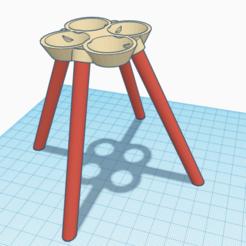 Download 3D printer designs Hydroponic flower pot for fish pond, ChrisLeg