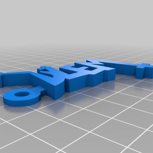 2b97844690fbcbeb66815b1003848b2d.png Télécharger fichier STL gratuit Porte-clés avec logo Dzem • Design pour imprimante 3D, mcko