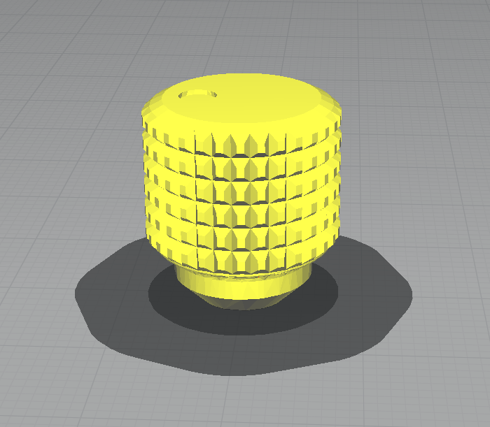 Screenshot_2.png Download STL file Hytera DMR Radio Volume Knob • 3D printing object, mcko
