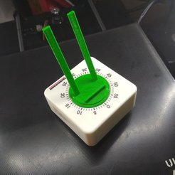 Download free 3D printer model Timer Time-Lapse MOD (Fackelmann timer) timelapse, mcko