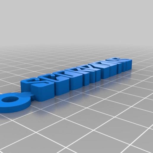 d8d0466b1b7435e210c896f8f4d658c5.png Télécharger fichier STL gratuit Porte-clés avec le logo Scorpions • Design imprimable en 3D, mcko