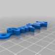 adacaccc29e3ca9463f0e3690d28060a.png Télécharger fichier STL gratuit Porte-clés avec logo violet foncé • Plan imprimable en 3D, mcko