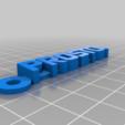 Download free 3D print files Prosto Logo Keychain, mcko