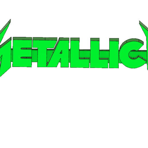 Screenshot_1.png Download free STL file Metallica Logo Keychain • 3D print design, mcko